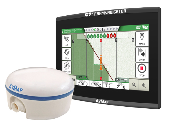 G7 Ezy Farmnavigator + Turtle Smart GPS/GNSS receiver