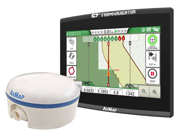 G7 Plus Farmnavigator + Turtle Smart GPS/GNSS receiver