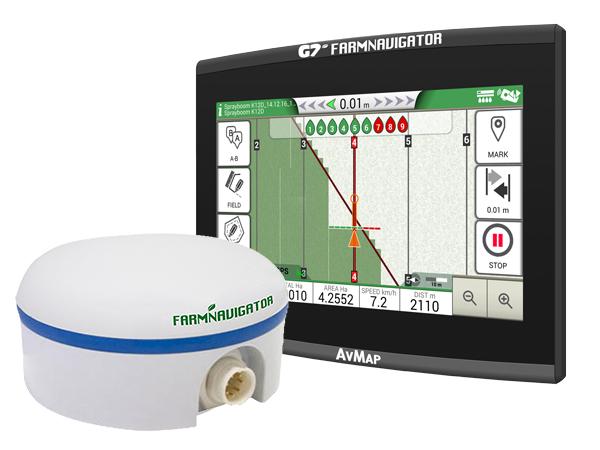 G7 Ezy Farmnavigator + Turtle Smart GPS/GNSS receiver